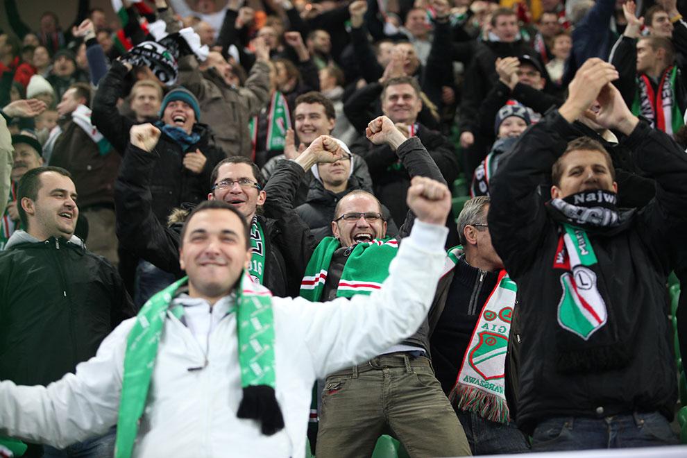 Legia Warszawa 2-0 Jagiellonia Białystok - fot. Piotr Galas (zdjęcie 63 z 77)