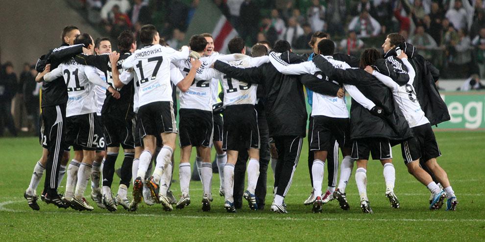 Legia Warszawa 2-0 Jagiellonia Białystok - fot. Piotr Galas (zdjęcie 68 z 77)