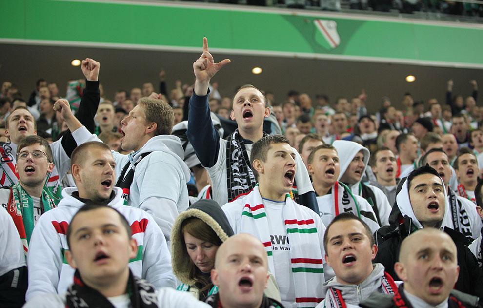 Legia Warszawa 2-0 Jagiellonia Białystok - fot. Piotr Galas (zdjęcie 75 z 77)
