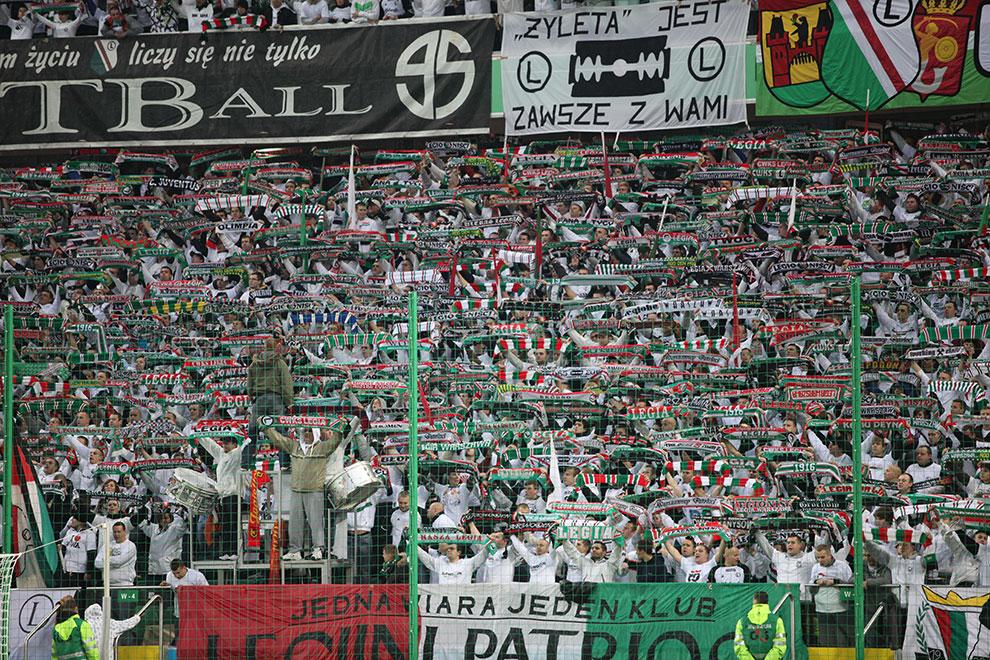 Legia Warszawa 2-0 Jagiellonia Białystok - fot. Piotr Galas (zdjęcie 9 z 77)
