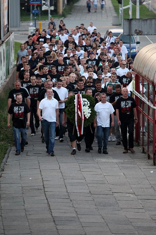 Obchody wybuchu Powstania Warszawskiego na Kopcu Powstania Warszawskiego - fot. Piotr Galas (zdjęcie 3 z 29)