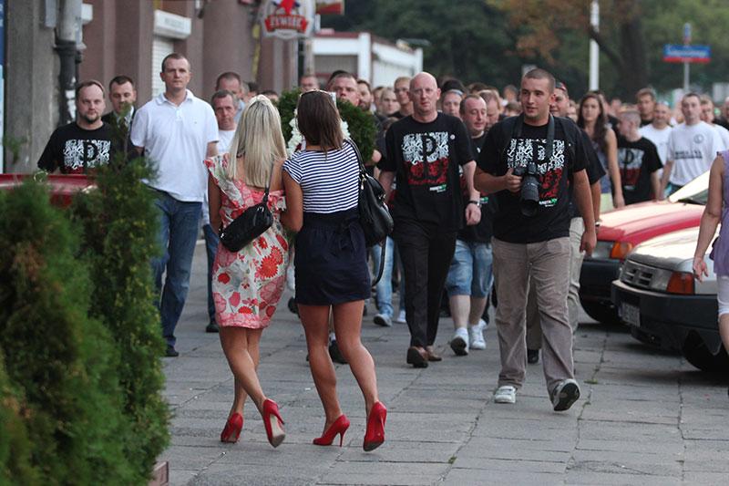 Obchody wybuchu Powstania Warszawskiego na Kopcu Powstania Warszawskiego - fot. Piotr Galas (zdjęcie 4 z 29)