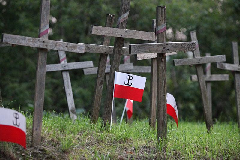 Obchody wybuchu Powstania Warszawskiego na Kopcu Powstania Warszawskiego - fot. Piotr Galas (zdjęcie 7 z 29)