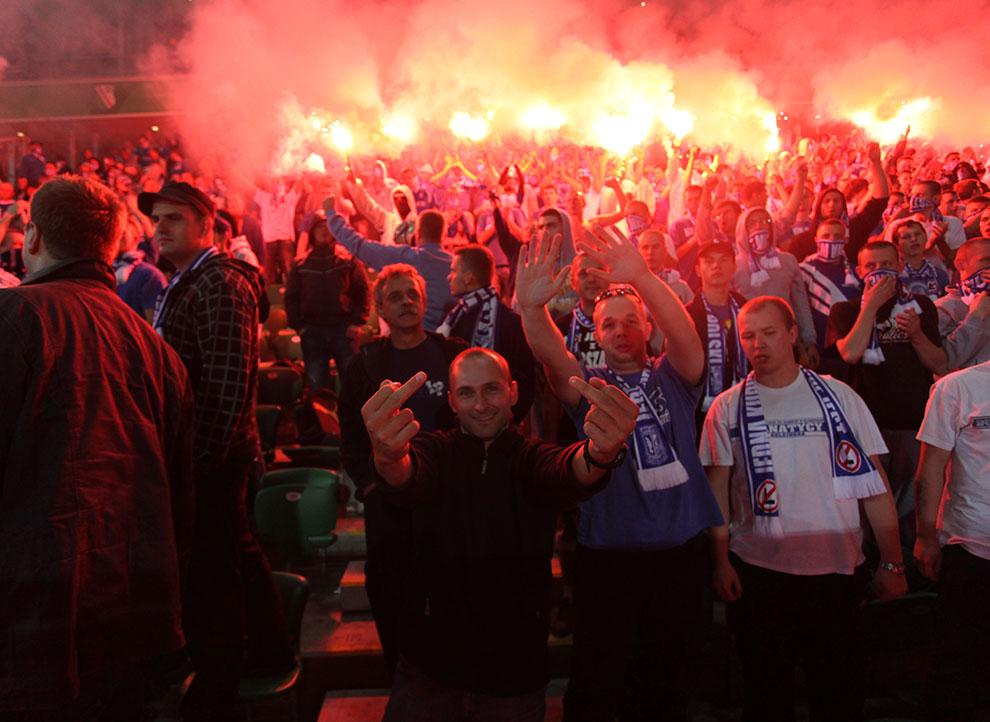 Legia Warszawa 2-1 Lech Poznań - fot. Piotr Galas (zdjęcie 66 z 78)