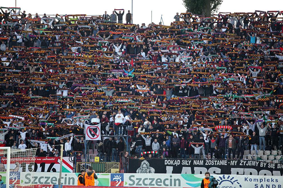 Pogoń Szczecin 0-1 Legia Warszawa - fot. Piotr Galas (zdjęcie 19 z 72)