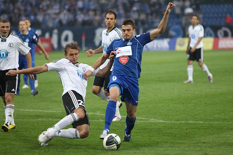 Ruch Chorzów 1-0 Legia Warszawa - fot. Piotr Galas (zdjęcie 24 z 45)