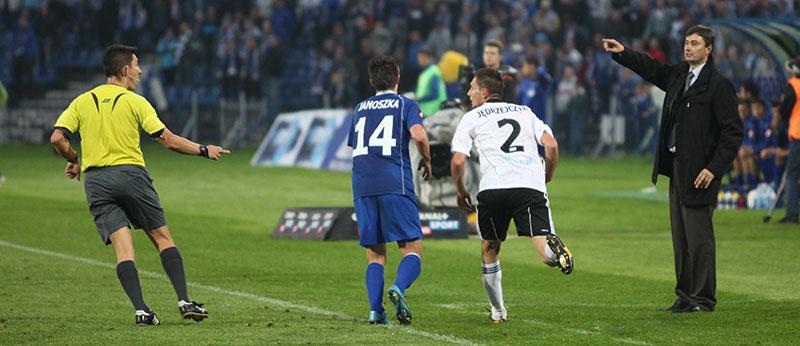 Ruch Chorzów 1-0 Legia Warszawa - fot. Piotr Galas (zdjęcie 40 z 45)