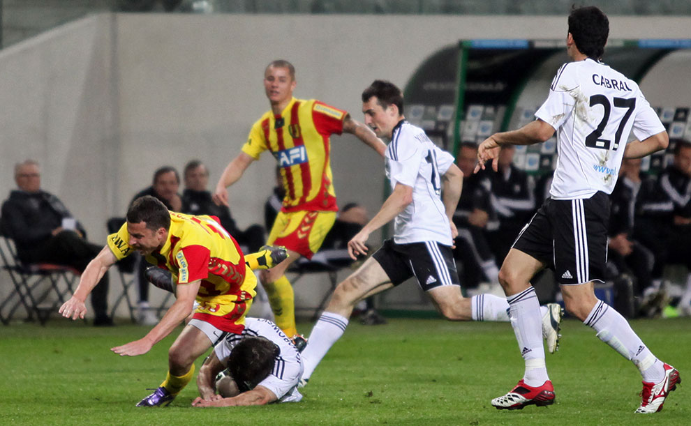 Legia Warszawa 3-1 Korona Kielce - fot. Piotr Galas (zdjęcie 17 z 70)