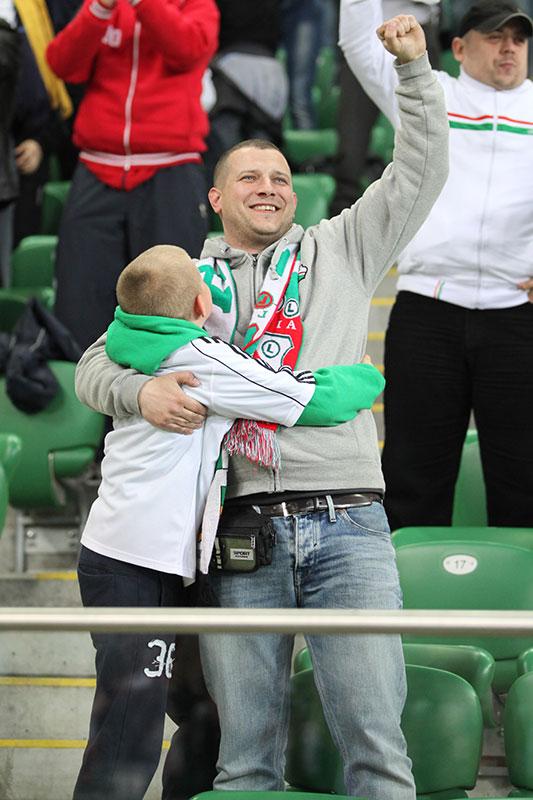 Legia Warszawa 4-0 Lechia Gdańsk - fot. Piotr Galas (zdjęcie 40 z 52)