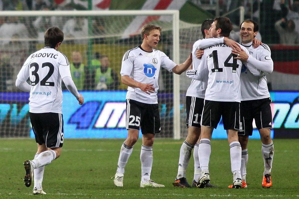Legia Warszawa 2-0 Ruch Chorzów - fot. Piotr Galas (zdjęcie 35 z 46)