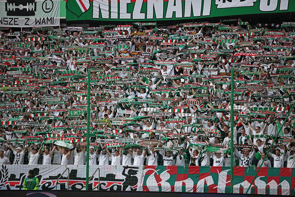 Legia Warszawa 2-3 Ruch Chorzów - fot. Piotr Galas (zdjęcie 18 z 59)