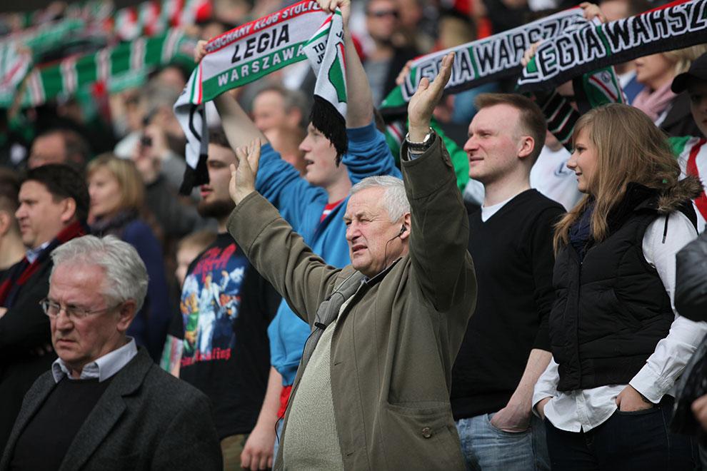 Legia Warszawa 2-3 Ruch Chorzów - fot. Piotr Galas (zdjęcie 20 z 59)