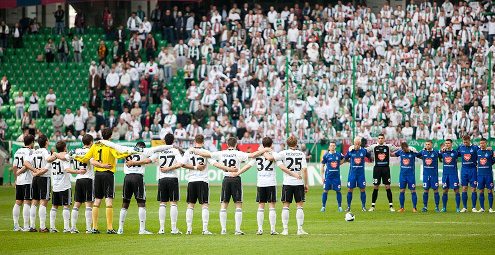 Legia Warszawa 2-3 Ruch Chorzów - fot. Piotr Galas (zdjęcie 22 z 59)
