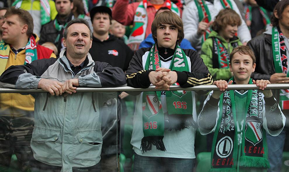 Legia Warszawa 2-3 Ruch Chorzów - fot. Piotr Galas (zdjęcie 23 z 59)