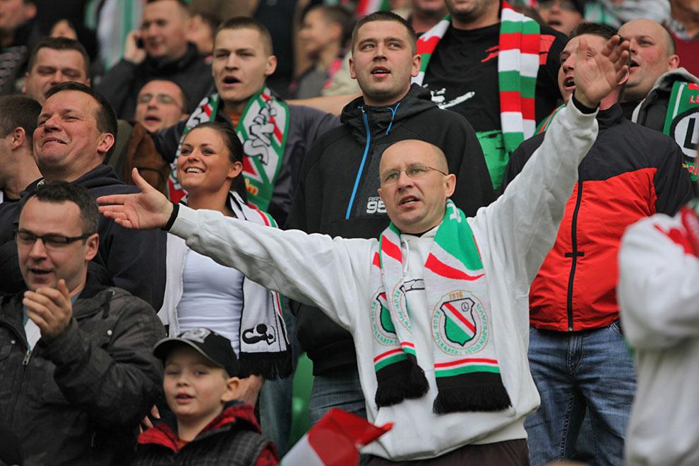 Legia Warszawa 2-3 Ruch Chorzów - fot. Piotr Galas (zdjęcie 24 z 59)