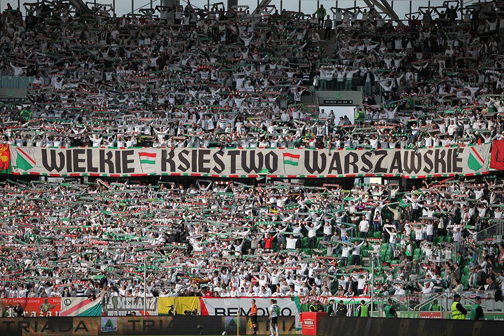 Legia Warszawa 2-3 Ruch Chorzów - fot. Piotr Galas (zdjęcie 26 z 59)