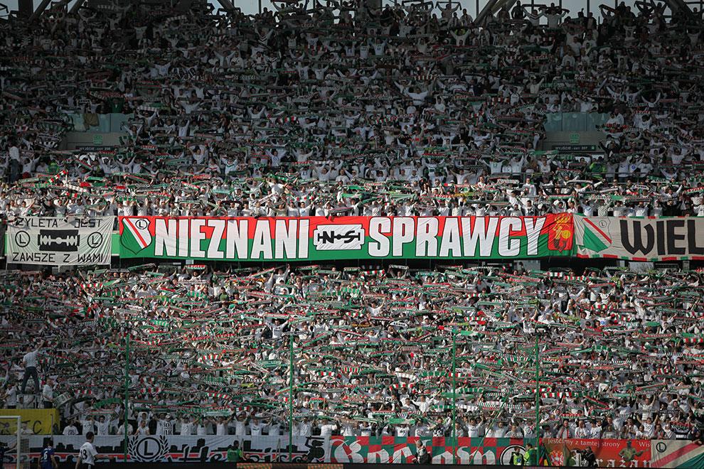 Legia Warszawa 2-3 Ruch Chorzów - fot. Piotr Galas (zdjęcie 27 z 59)