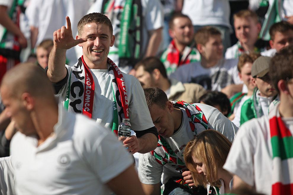 Legia Warszawa 2-3 Ruch Chorzów - fot. Piotr Galas (zdjęcie 3 z 59)