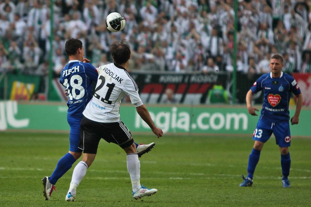 Legia Warszawa 2-3 Ruch Chorzów - fot. Piotr Galas (zdjęcie 30 z 59)