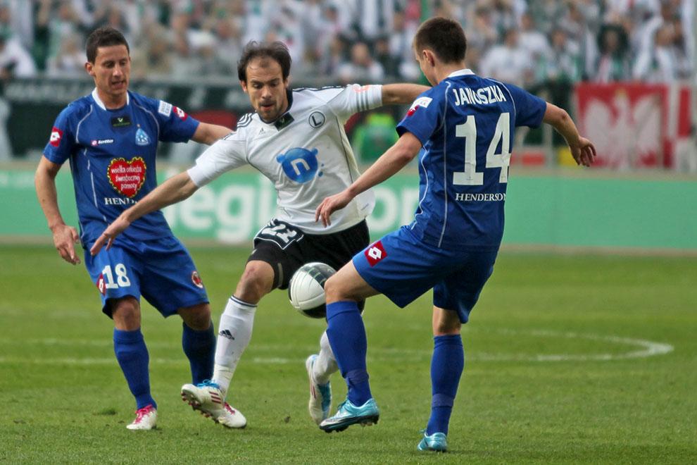Legia Warszawa 2-3 Ruch Chorzów - fot. Piotr Galas (zdjęcie 31 z 59)