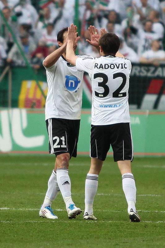 Legia Warszawa 2-3 Ruch Chorzów - fot. Piotr Galas (zdjęcie 33 z 59)