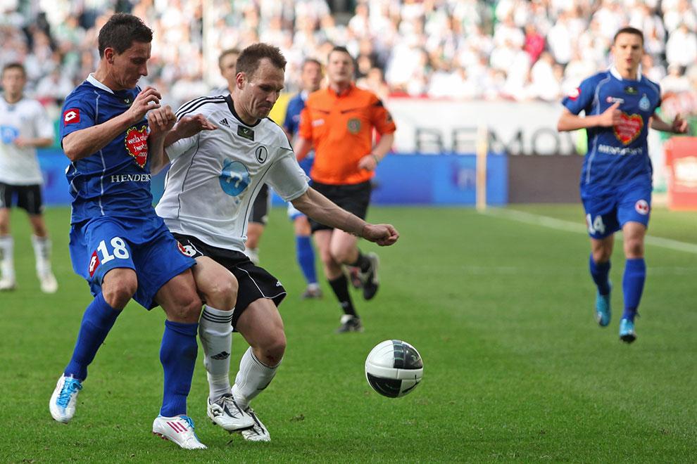 Legia Warszawa 2-3 Ruch Chorzów - fot. Piotr Galas (zdjęcie 34 z 59)