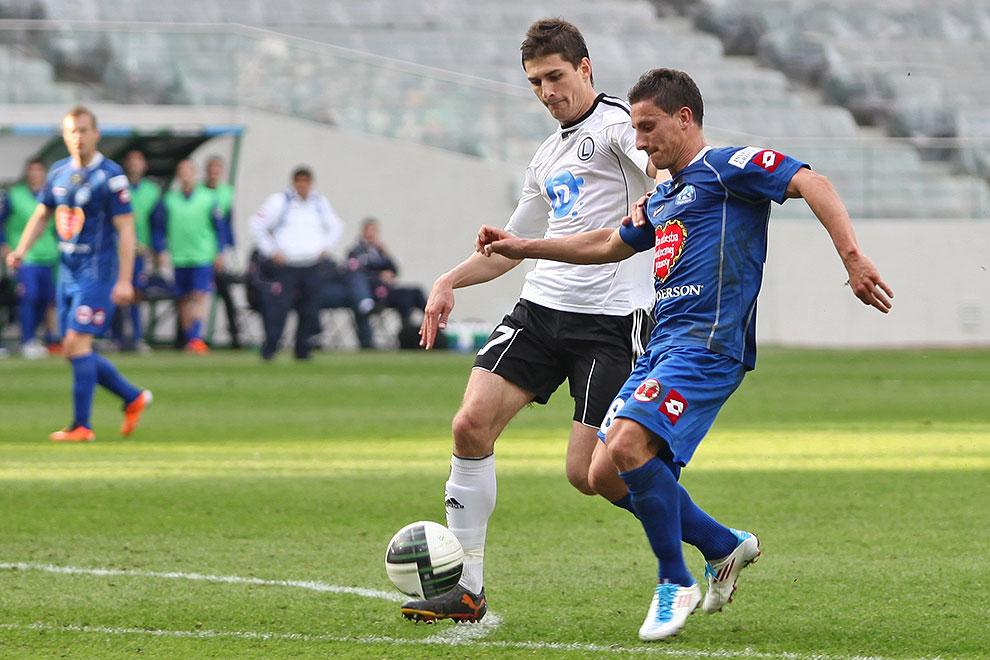 Legia Warszawa 2-3 Ruch Chorzów - fot. Piotr Galas (zdjęcie 37 z 59)