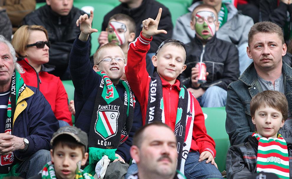 Legia Warszawa 2-3 Ruch Chorzów - fot. Piotr Galas (zdjęcie 47 z 59)