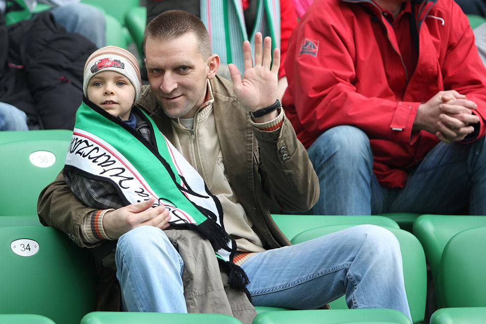 Legia Warszawa 2-3 Ruch Chorzów - fot. Piotr Galas (zdjęcie 49 z 59)