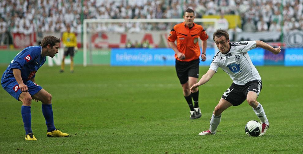 Legia Warszawa 2-3 Ruch Chorzów - fot. Piotr Galas (zdjęcie 55 z 59)