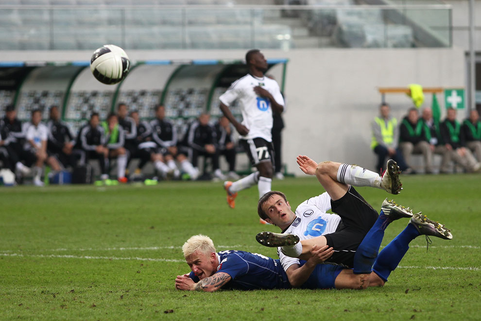 Legia Warszawa 2-3 Ruch Chorzów - fot. Piotr Galas (zdjęcie 57 z 59)