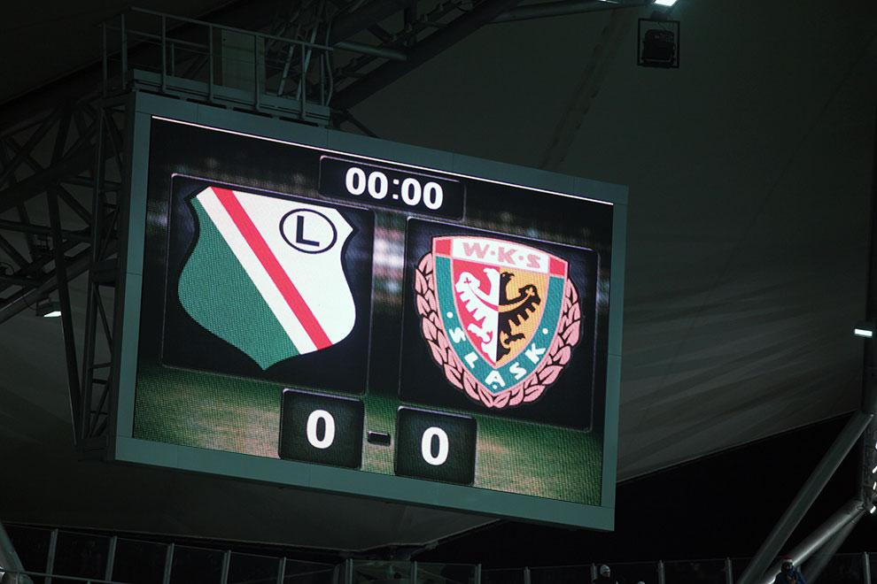 Legia Warszawa 1-2 Śląsk Wrocław - fot. Piotr Galas (zdjęcie 5 z 72)