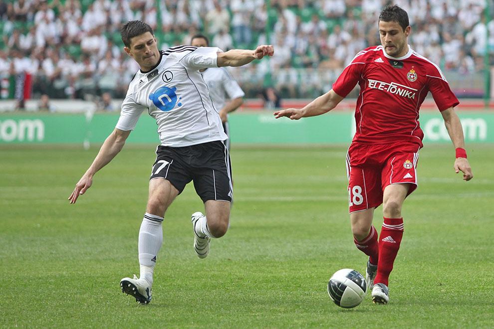 Legia Warszawa 2-0 Wisła Kraków - fot. Piotr Galas (zdjęcie 19 z 64)