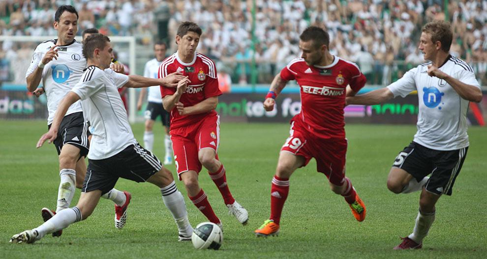 Legia Warszawa 2-0 Wisła Kraków - fot. Piotr Galas (zdjęcie 24 z 64)