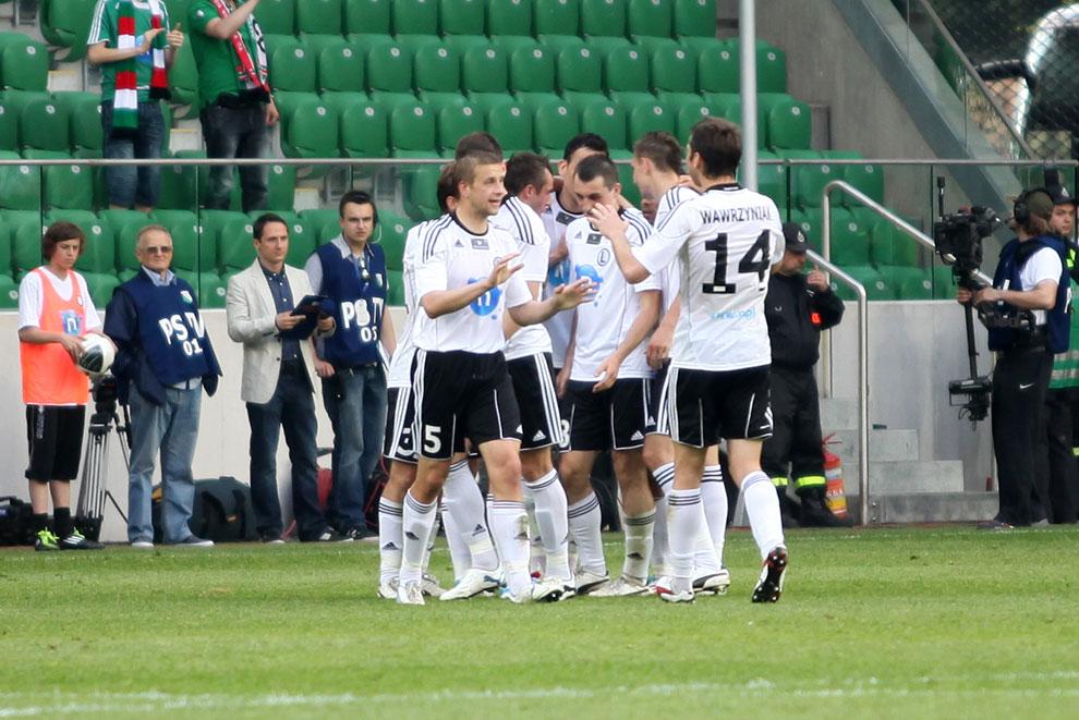 Legia Warszawa 2-0 Wisła Kraków - fot. Piotr Galas (zdjęcie 33 z 64)