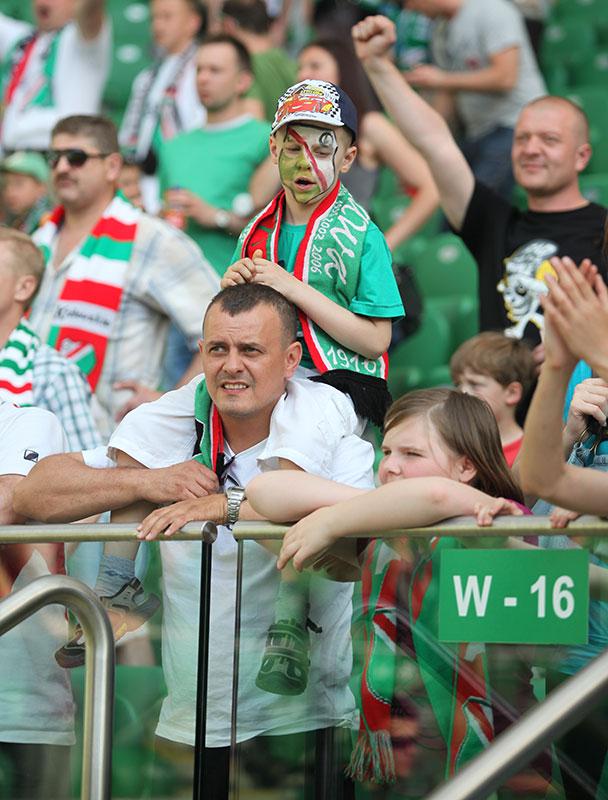 Legia Warszawa 2-0 Wisła Kraków - fot. Piotr Galas (zdjęcie 60 z 64)
