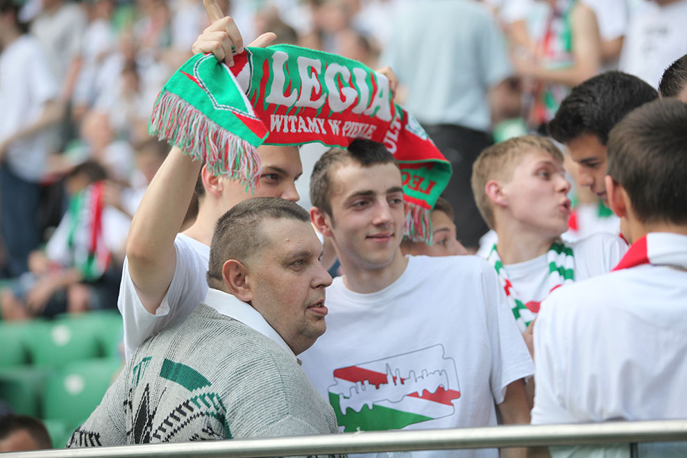 Legia Warszawa 2-0 Wisła Kraków - fot. Piotr Galas (zdjęcie 9 z 64)