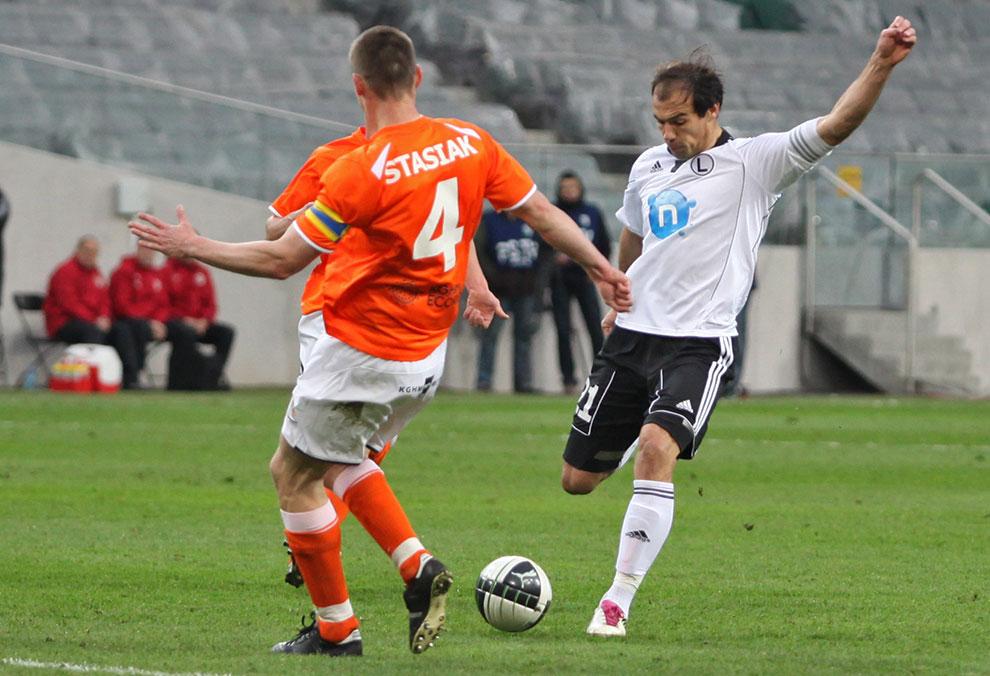Legia Warszawa 2-2 Zagłębie Lubin - fot. Piotr Galas (zdjęcie 36 z 76)