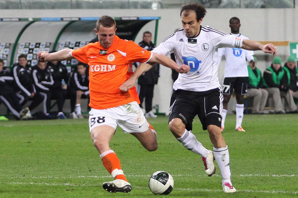 Legia Warszawa 2-2 Zagłębie Lubin - fot. Piotr Galas (zdjęcie 65 z 76)