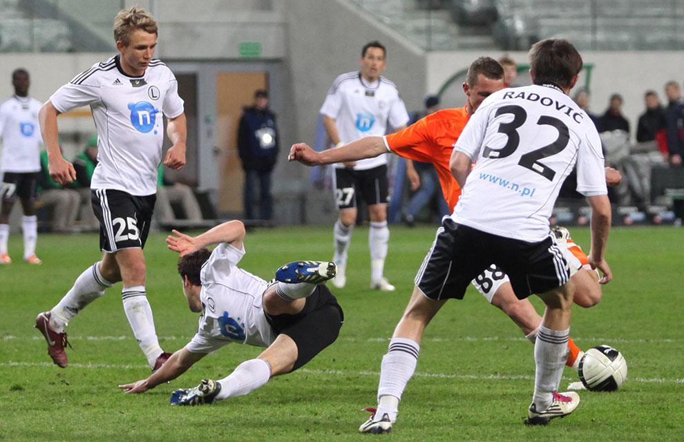 Legia Warszawa 2-2 Zagłębie Lubin - fot. Piotr Galas (zdjęcie 66 z 76)