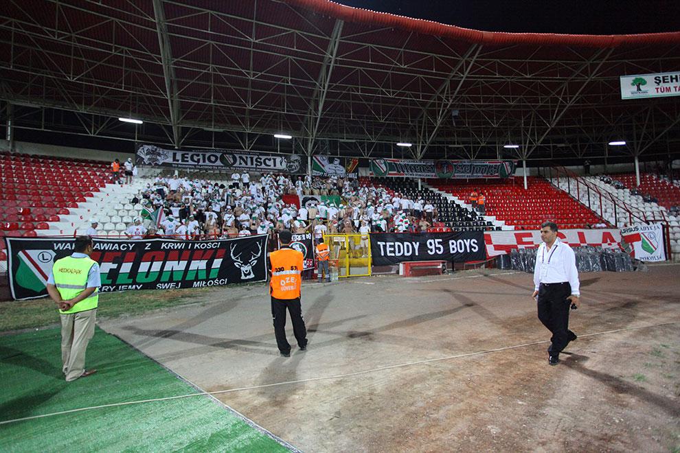 Gaziantepspor 0-1 Legia Warszawa - fot. Piotr Galas (zdjęcie 12 z 89)