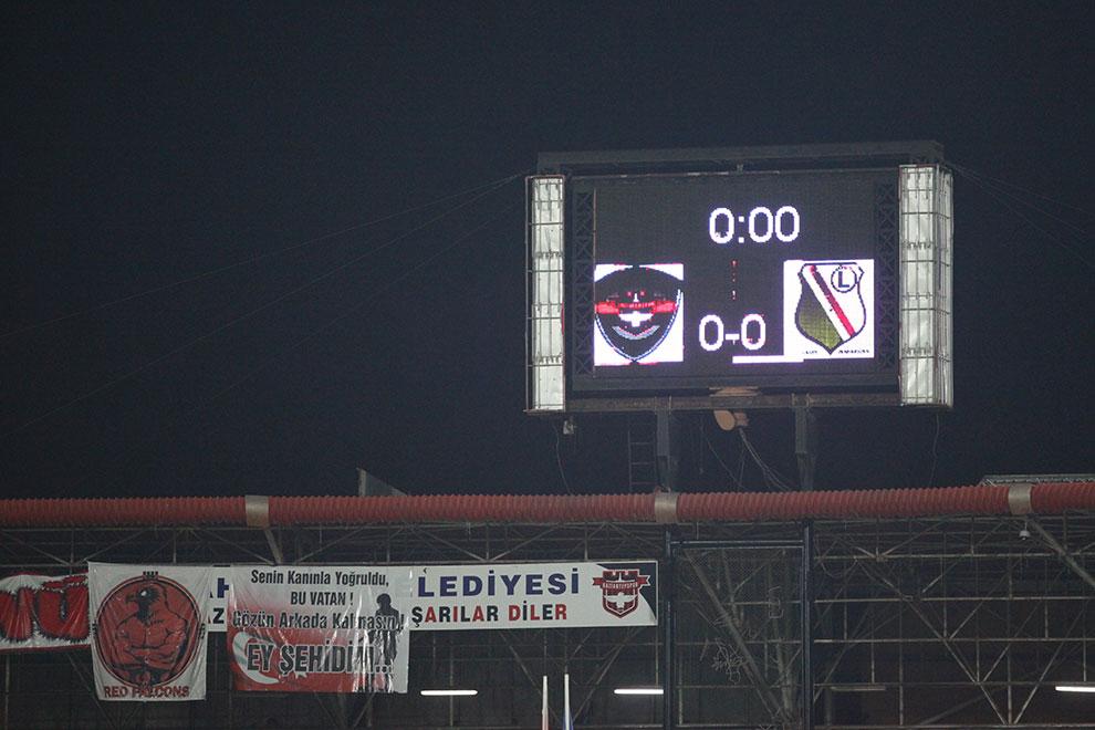 Gaziantepspor 0-1 Legia Warszawa - fot. Piotr Galas (zdjęcie 14 z 89)