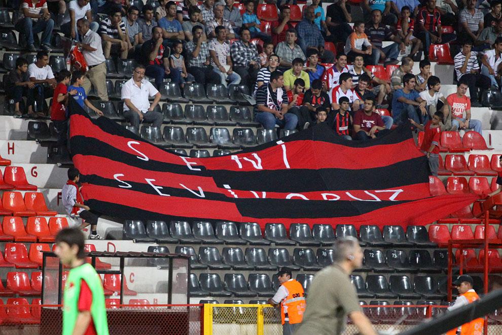 Gaziantepspor 0-1 Legia Warszawa - fot. Piotr Galas (zdjęcie 15 z 89)