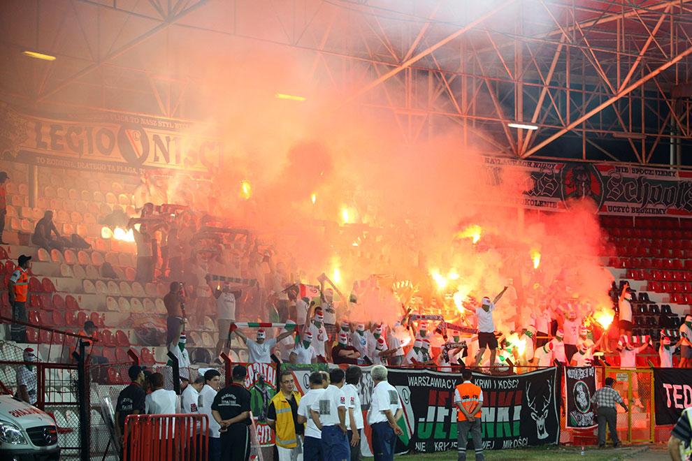 Gaziantepspor 0-1 Legia Warszawa - fot. Piotr Galas (zdjęcie 23 z 89)