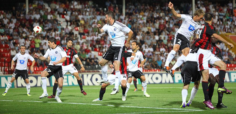 Gaziantepspor 0-1 Legia Warszawa - fot. Piotr Galas (zdjęcie 28 z 89)