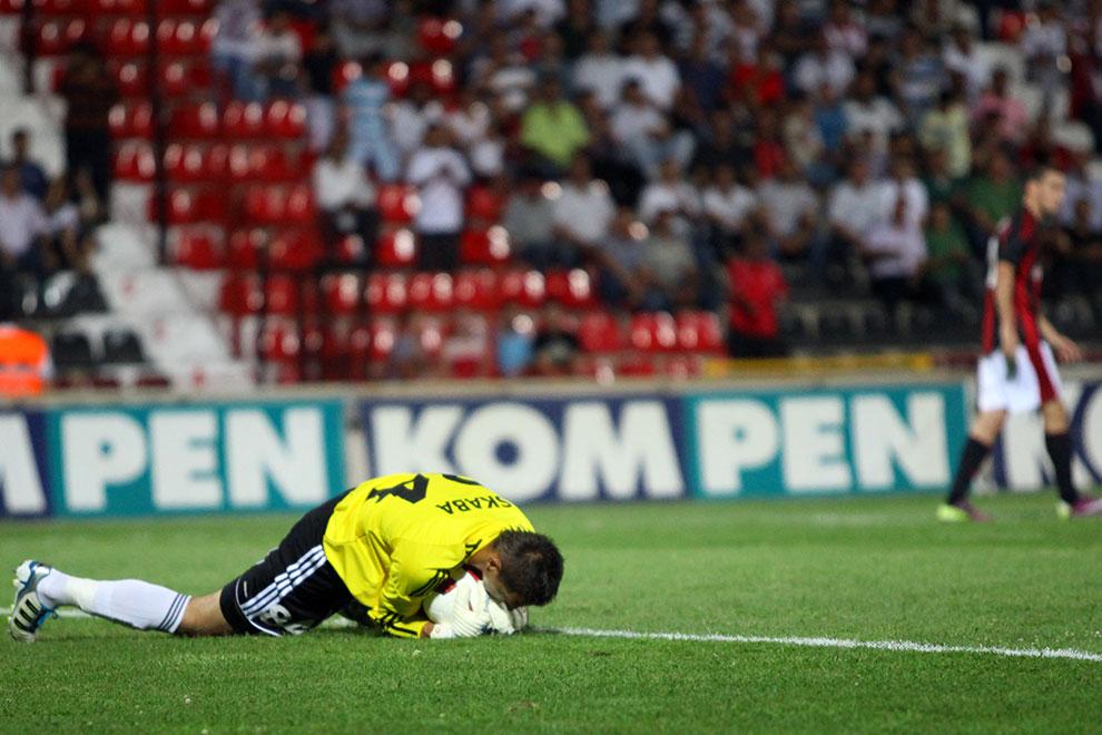 Gaziantepspor 0-1 Legia Warszawa - fot. Piotr Galas (zdjęcie 33 z 89)