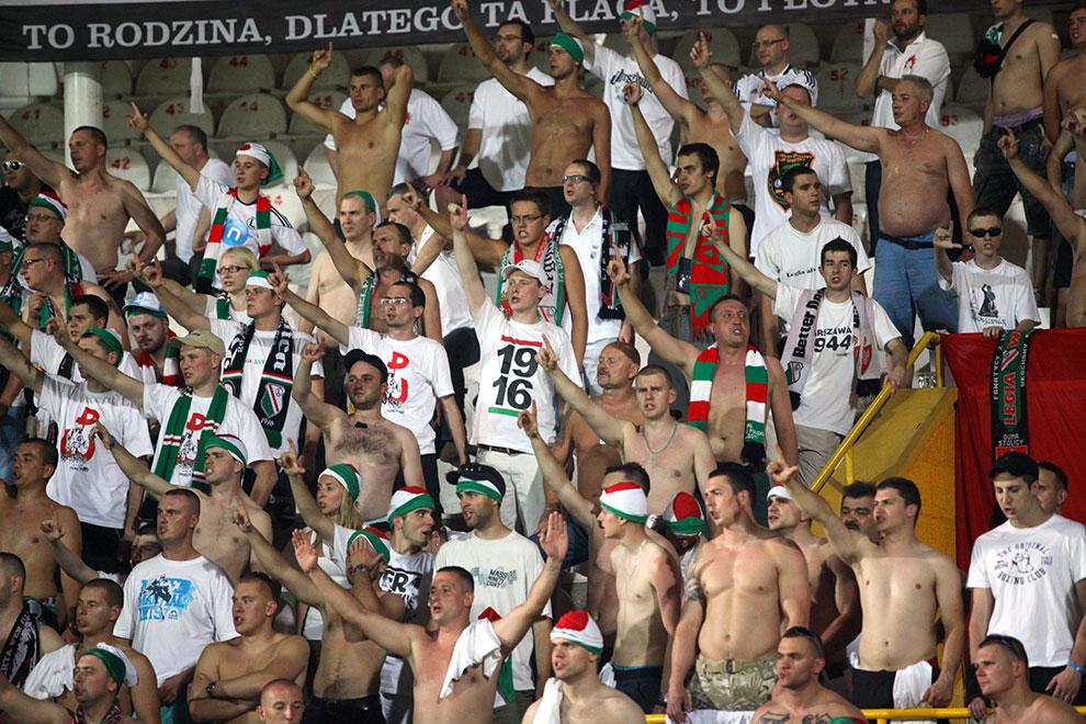 Gaziantepspor 0-1 Legia Warszawa - fot. Piotr Galas (zdjęcie 43 z 89)