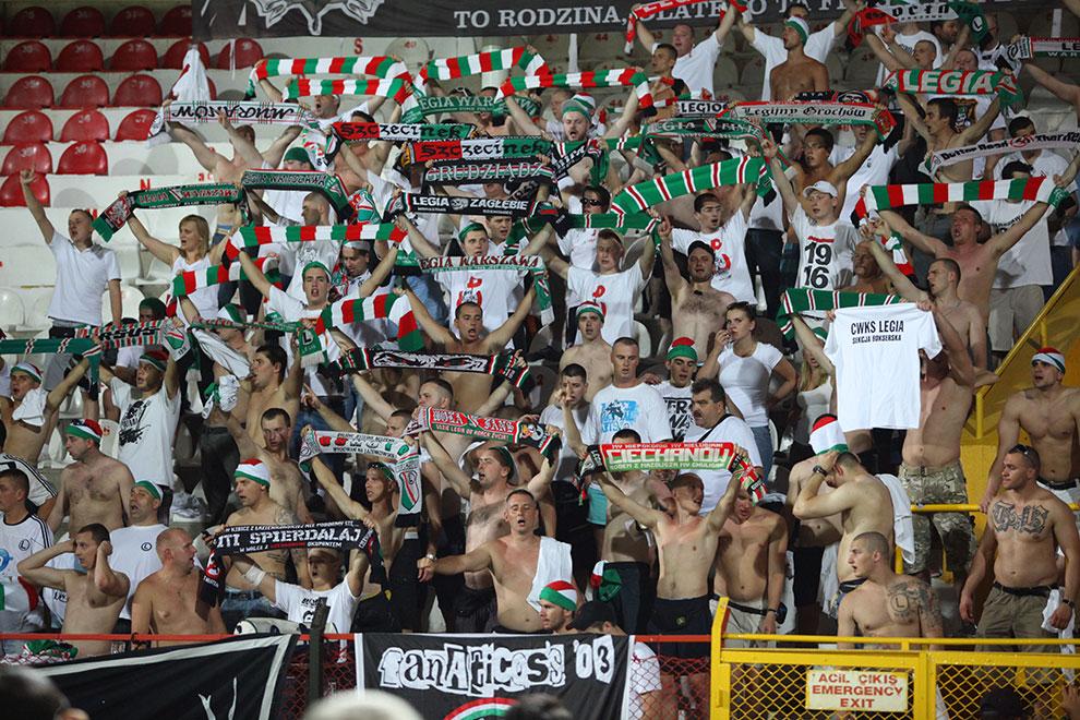 Gaziantepspor 0-1 Legia Warszawa - fot. Piotr Galas (zdjęcie 46 z 89)