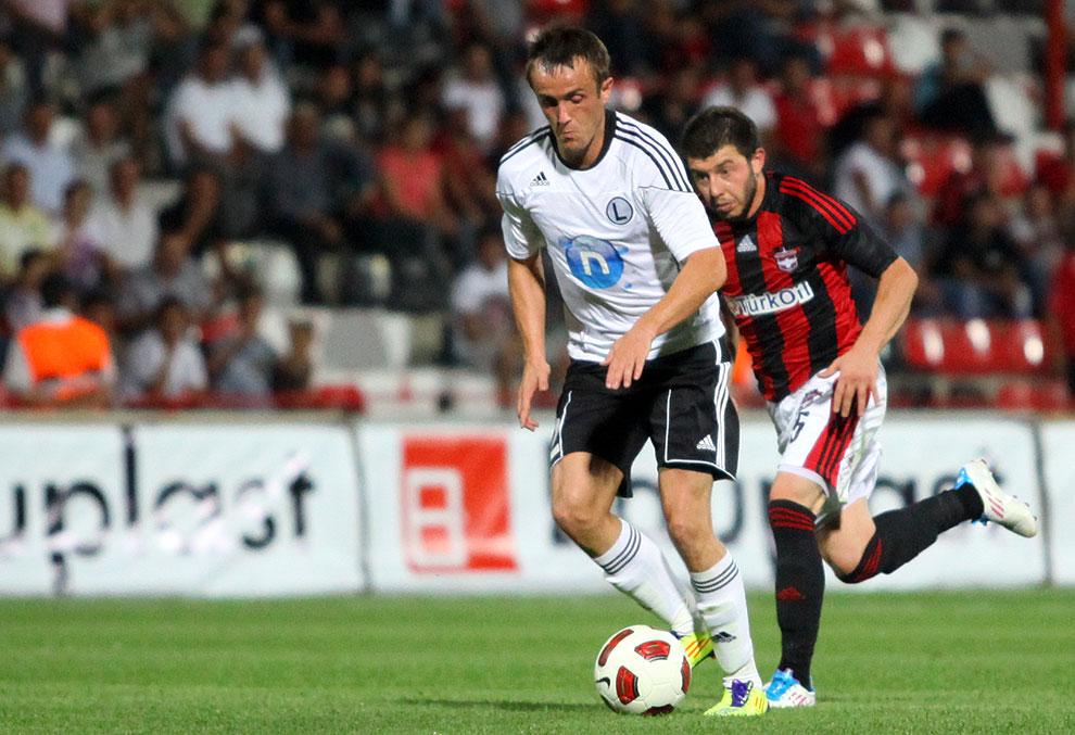 Gaziantepspor 0-1 Legia Warszawa - fot. Piotr Galas (zdjęcie 47 z 89)