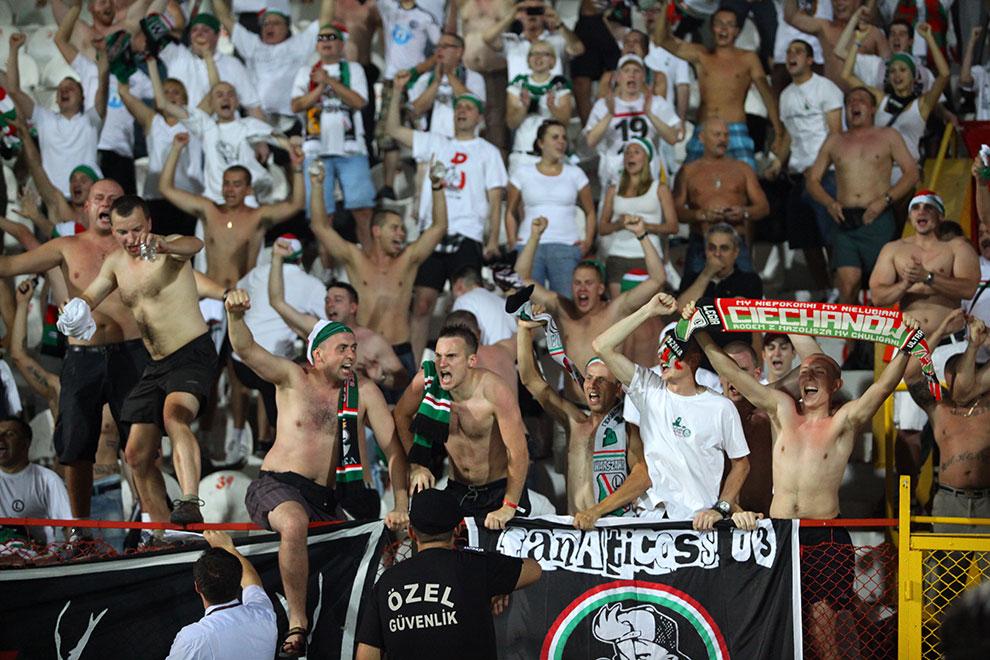 Gaziantepspor 0-1 Legia Warszawa - fot. Piotr Galas (zdjęcie 53 z 89)